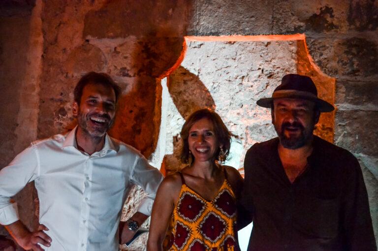 Francesco Malfitano, Teresa Saponangelo e Davide Rondoni