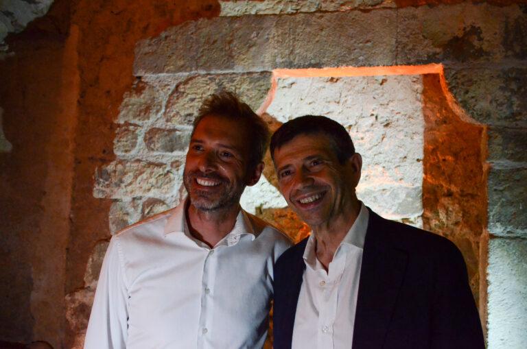 Francesco Malfitano e Maurizio Lupi